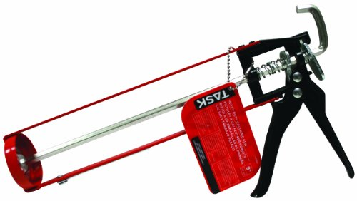 Task Tools T37065 9-Inch Heavy-Duty Skeleton Caulking Gun