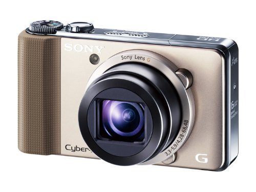 SONY デジタルスチルカメラ Cybershot HX9V 1620万画素CMOS 光学x16 ゴールド DSC-HX9V/N