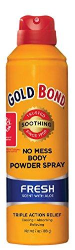 Gold Bond No Mess Spray Powder Fresh 7 oz. (Spray Baby Powder compare prices)