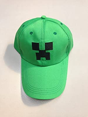 Minecraft Creeper Jj Monster Cap from A-factory