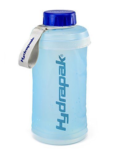 Hydrapak Stash Water Bottle, Blue, 750 Ml