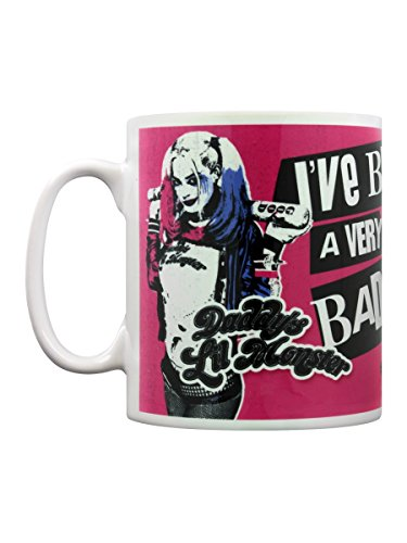 Little Monster ufficiale tazza caffè Harley Quinn Suicide Squad Bad Girl di papà