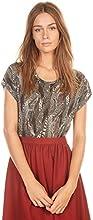 MONOPRIX FEMME - T-shirt à manches courtes imprimé plume - Femme