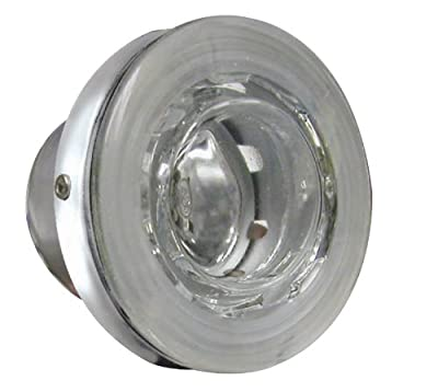 ITC (81384-SS-DB) Recessed Docking Light with Stainless Steel Bezel