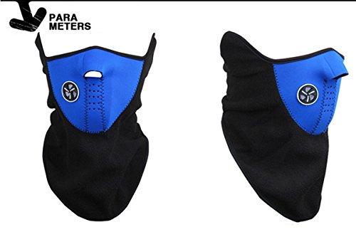 Best Brand Universal Motorcycle Neck Ski Snowboard Bike Warm Face Mask-Blue