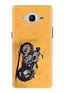 Noise Designer Printed Case / Cover for Samsung Galaxy J2 - 6 (New 2016 Edition) / Automobiles / Bike Design
