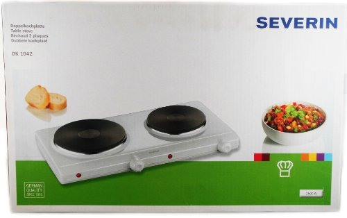 Overseas Use Only Severin Dk 1042 Double Burner Table Stove (220 Volt Will Not Work In The Usa) front-91336