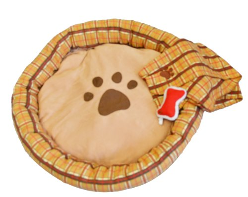 Deluxe Plush Pet Bed With Accessories front-42101