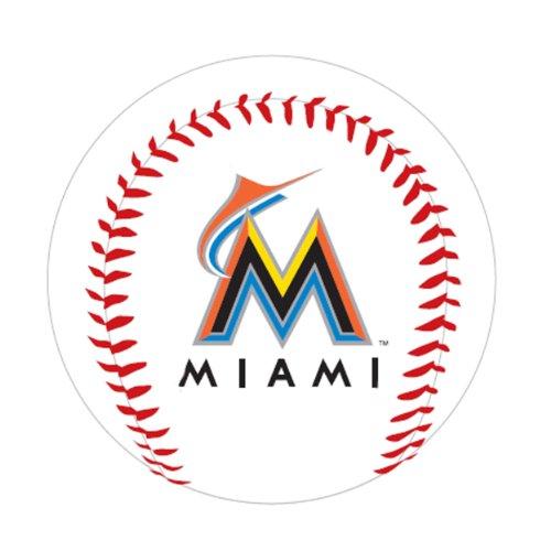 MLB Miami Marlins K2 Baseball with Team Logo
