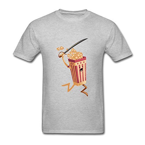 Sungboys Men's Popcorn Short Sleeve T Shirt (Hobbit Popcorn compare prices)