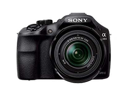 Sony Alpha A3000 Mirrorless Interchangeable Lens 20.1MP Digital Camera with 18-55mm Lens + Sony E 55-210mm F4.5-6.3 Lens by Sony