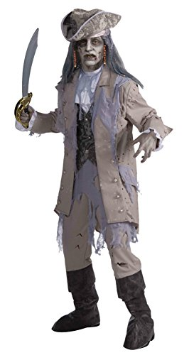 Forum Novelties Mens Zombie Pirate Buccaneer Theme Party Fancy Dress Costume