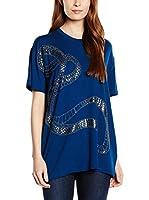 Just Cavalli Camiseta Manga Corta (Azul)