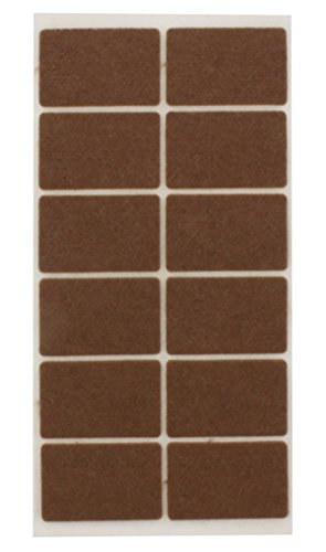 Juvale Wood Vinyl Floor Cloth Felt Pads Various Sizes Assorted Stoppers 119