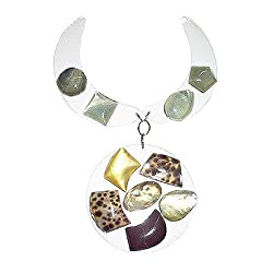 Leopard Warning Neckpiece (Sweet Safari)