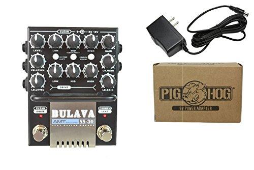 AMT Electronics SS-30 Guitar Preamp Power Bundle w/ 1 free Items: Item: Pig Hog 9v Power Adapter
