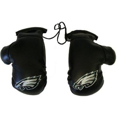 Philadelphia Eagles NFL Rearview Mirror Mini Boxing Gloves