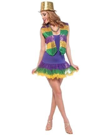 Amazon.com: Adult Womens Mardi Gras Party Girl Tutu Short ... - photo #7