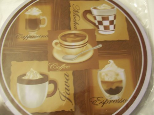 Cooking Concepts Set Of 4 Burner Covers ~ Specialty Coffee