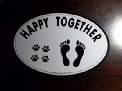 Pet Car Magnet - HAPPY TOGETHER