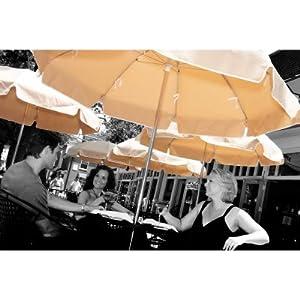Shopzilla - 9 Crank Tilt Market Umbrella Patio Umbrellas shopping