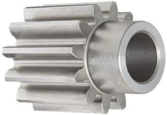 Boston Gear Spur Gear, Steel, Inch, 5 Pitch