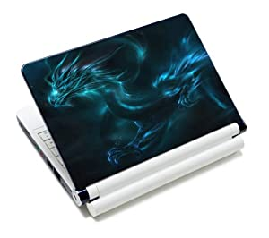 Luxburg® Design skin de protection sticker film autocollant pour ordinateur portable 10 / 12 / 13 / 14 / 15 pouces, motif: Dragon fantasy