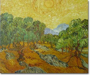 Sower with Setting Sun by Van Gogh
