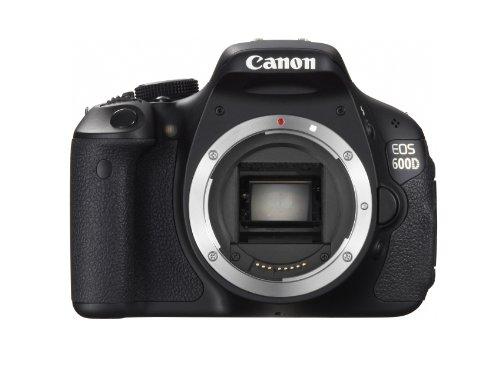 Canon Eos 600D (European Eos Rebel T3I) 18 Mp Cmos Digital Slr Camera (Body Only)