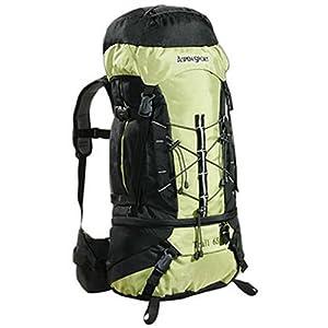 AspenSport Trekkingrucksack TRAIL, 65 Liter Volumen , green/black