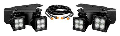 Kc Hilites 340 Lzr Led Bumper Light Kit With Harness For Ford Raptor