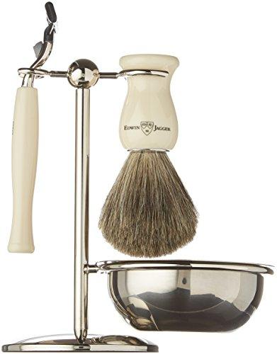 edwin-jagger-s81m717b-set-da-barba-4-pezzi-con-rasoio-per-gilette-mach-3-pennello-e-porta-pennello-p