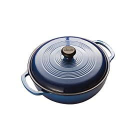 Amazon - Lodge Enamel on Cast Iron 3 Quart Dutch Oven - $39.99 shipped