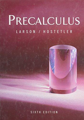 Pre-calculus, Custom Publication