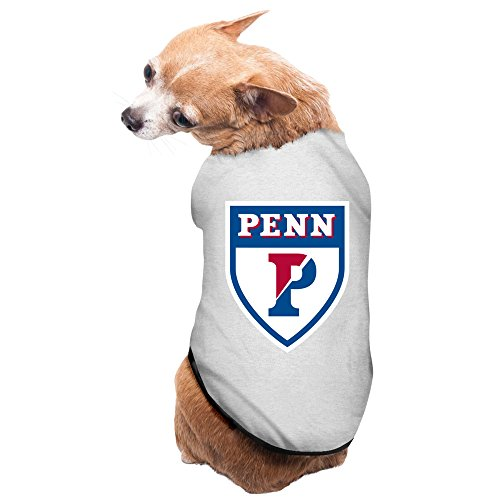 Gray University Of Pennsylvania Athletics Logo Doggie Jacket Doggie Coats