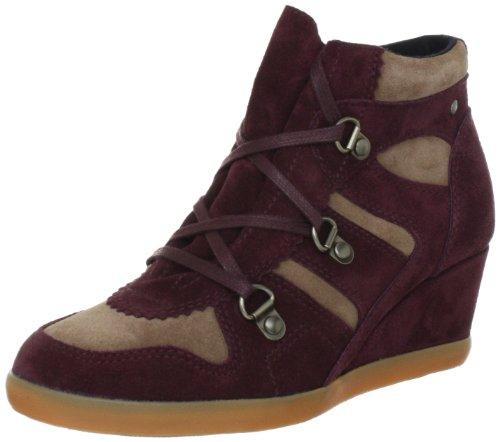 Esprit International Lexa Lu Bootie L13115, Damen Fashion Sneakers, Rot (deep bordeaux 646), EU 40