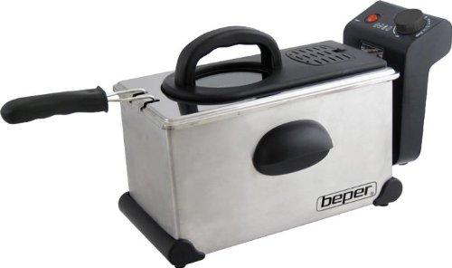 Friggitrice Elettrica Professionale Beper 2300W 3,5 litri corpo in acciaio