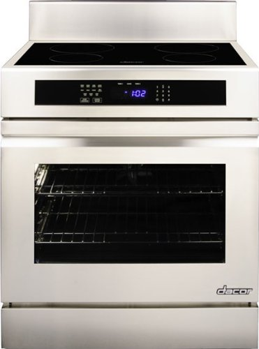 """Dacor Rr30Nfs 4.8 Cu. Ft. Capacity 30"""" Induction Freestanding Range With Four Induction Simmersear Zones, 6"""" Backguard, Full-Depth Side Panels & In front-530103"""