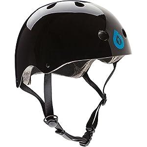 SixSixOne Dirt Lid Stacked Helmet (Black, One Size)