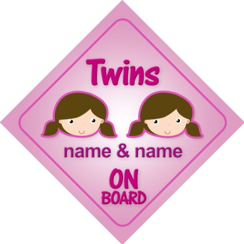 Nan/'s Taxi Pink Car Sign New Baby Child On Board Gift Present