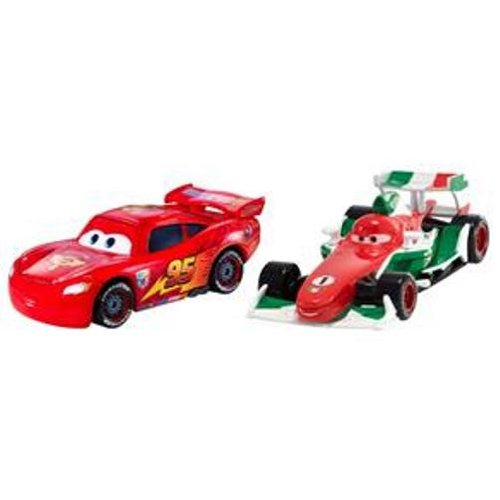 Disney Pixar Cars 2 FRANCESCO BERNOULLI & KA-CIAO McQUEEN Movie Moments