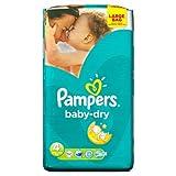 La tinta no se seca tamaño de la funda de Pampers con mangas para bebé pañales de 4 con sistema de frío de tamaño grande con bordado 62 pañales de