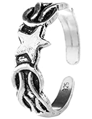 Jewels Cart Sterling Silver Toe Ring For Women - B018QT6MEO