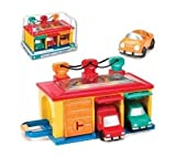 Toysmith Battat Under Lock and Key Garage Toy