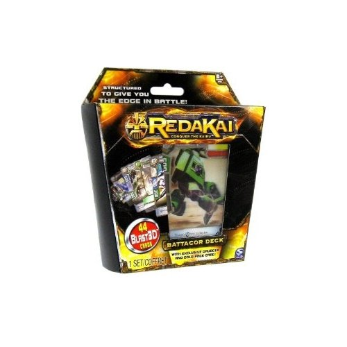 Redakai Card Game Battacor Structure Deck 44 Cards - 1