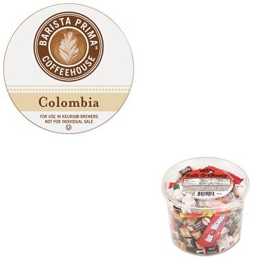 Kitgmt6613Ofx00013 - Value Kit - Green Mountain Coffee Roasters Colombia K-Cups Coffee Pack (Gmt6613) And Office Snax Soft Amp;Amp; Chewy Mix (Ofx00013)