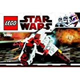 41uP94mVhbL. SL160  LEGO Star Wars Exclusive Mini Building Set #30050 Republic Attack Shuttle Bagged