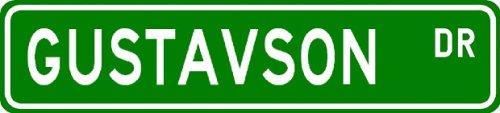 GUSTAVSON Street Sign ~ Personalized Family Lastname Sign ~ Gameroom, Basement, Garage Sign ** - Buy GUSTAVSON Street Sign ~ Personalized Family Lastname Sign ~ Gameroom, Basement, Garage Sign ** - Purchase GUSTAVSON Street Sign ~ Personalized Family Lastname Sign ~ Gameroom, Basement, Garage Sign ** (The Lizton Sign Shop, Home & Garden,Categories,Patio Lawn & Garden,Outdoor Decor)