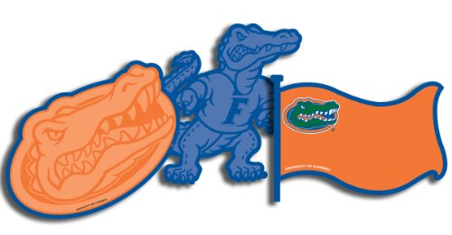 Eureka University of Florida NCAA Licensed Paper Cut Outs