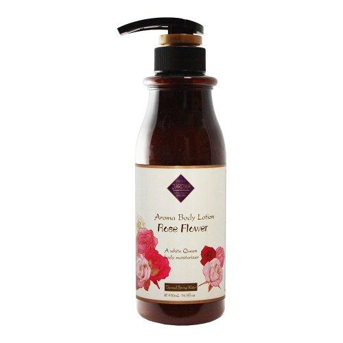 Jーアロマローション 保湿成分とハーブの香りが全身を包み込む ローズ